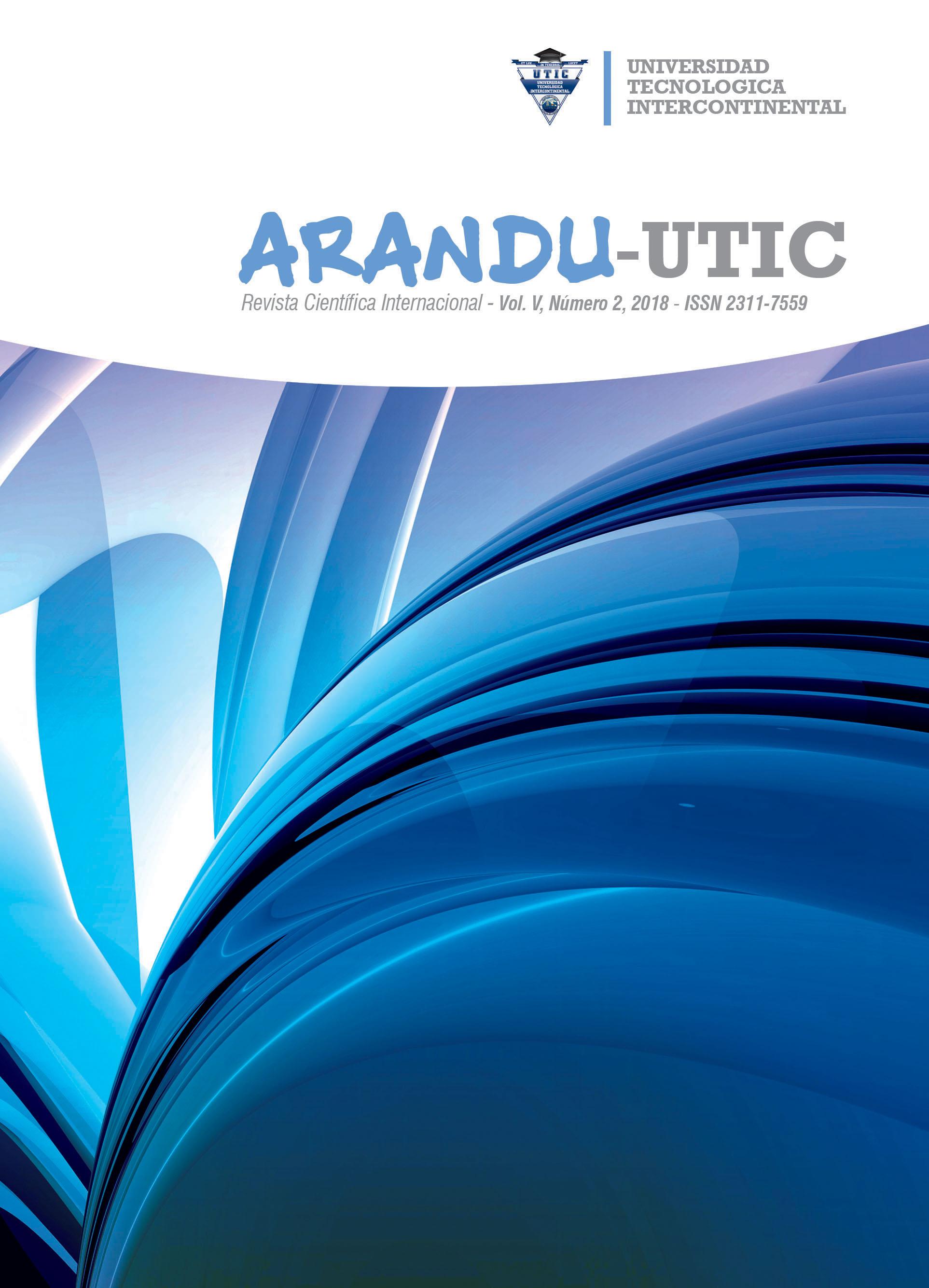 Ver Vol. 5 Núm. 2 (2018): Arandu UTIC